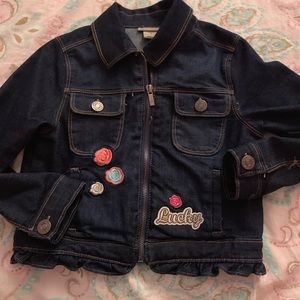 Lucky brand girls Jean jacket